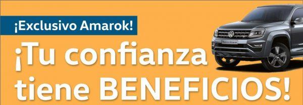 Beneficio exclusivo Amarok!