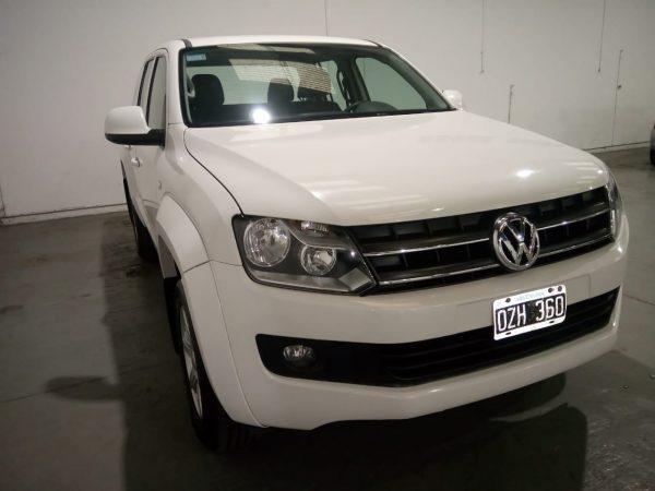 VW AMAROK TRENDLINE 4X2 D/C 180HP