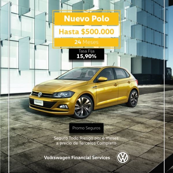 Nuevo Polo hasta $500.000 financiado