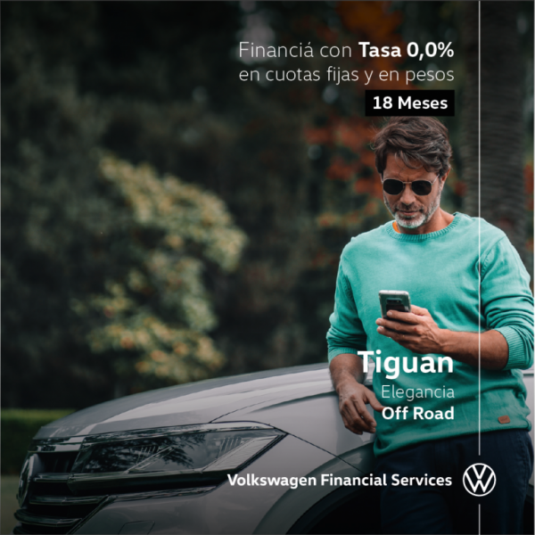 Tiguan, elegancia Off Road
