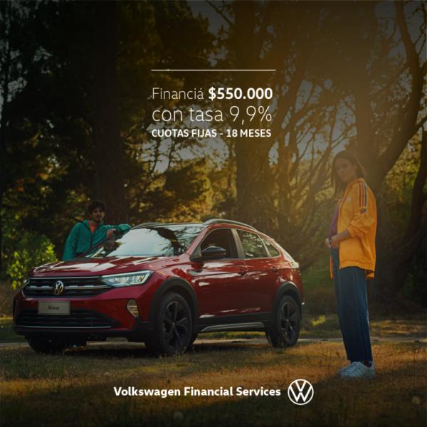 Accedé con la mejor financiación a tu Nuevo Volkswagen